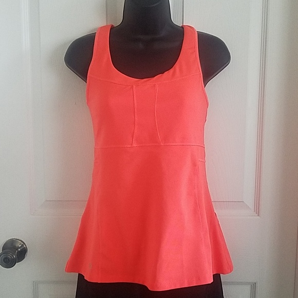 Athleta Tank Top Size S Baby Doll Black Yoga Fitness Shelf Bra Black Clothing, Shoes & Accessories